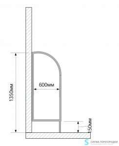 Писсуарные Перегородки 16мм из ЛДСП